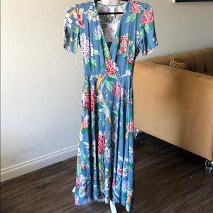 GP & J Baker x H&M floral dress